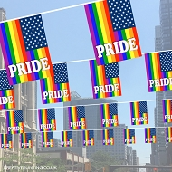 Pride USA Bunting design 4